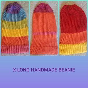 Accessories - Extra Long Handmade Beanie